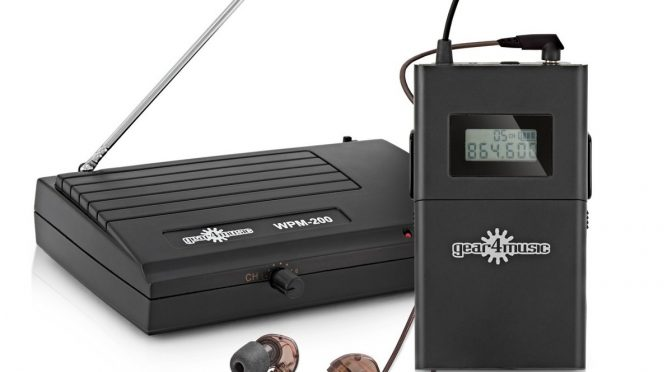 Gear4Music WPM-200 Wireless In-Ear Monitor Review. The Cheapest and Most Affordable Solution?