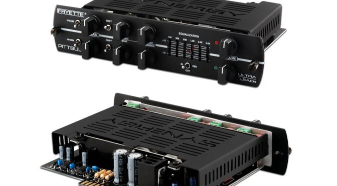 Synergy Amplification announces the Fryette Pittbull Ultra-Lead preamp module