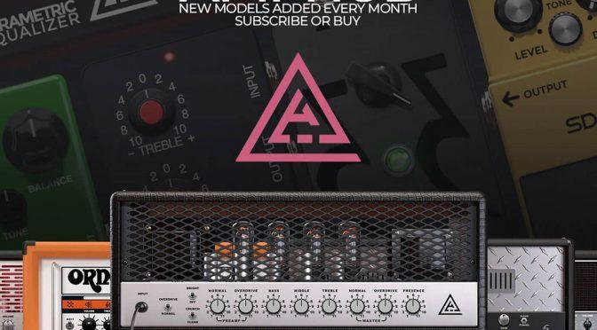 STL Tones announces the AmpHub, a comprehensive selection of virtual amps