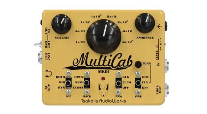 Tsakalis Audio launches the MultiCab MK3 cab simulator & preamp