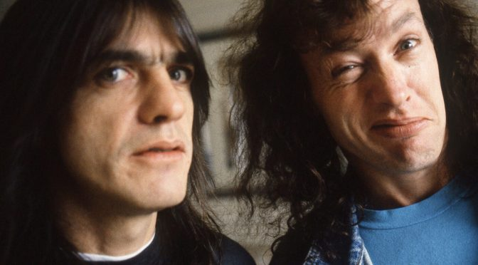 """""""I know Mal's not with us anymore; he's there with us in spirit"""": Angus Young"""