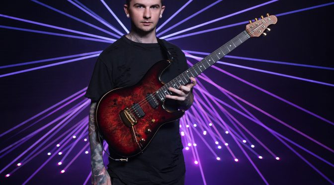 Jason Richardson on his new Cutlass signature and the joys of working with Ernie Ball Music Man
