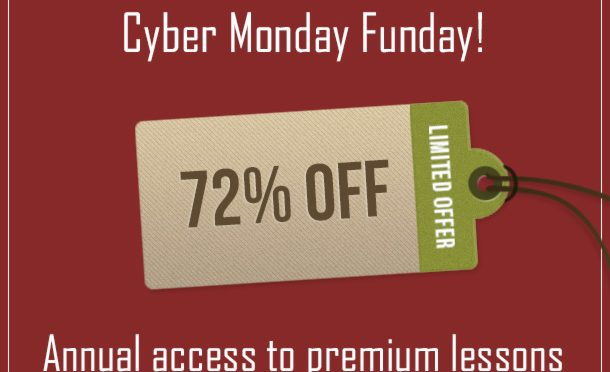 72% off – Cyber Monday Sale 2020