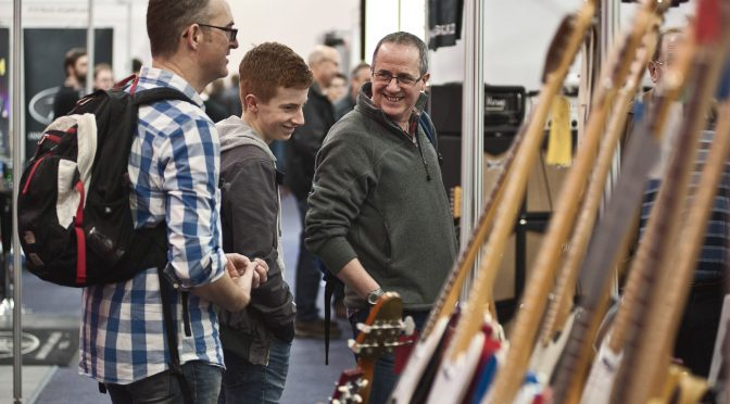 Happening this weekend: NOT The Guitar Show, The Guitar Show's virtual equivalent