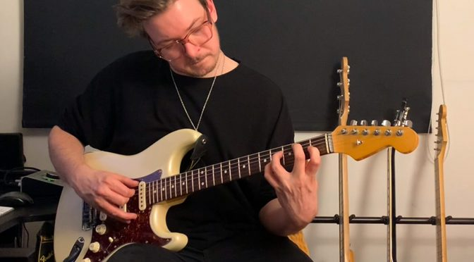 My Guitar Story: George Glew on his battle-scarred Fender Stratocaster