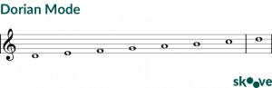 What are musical modes in music theory?
