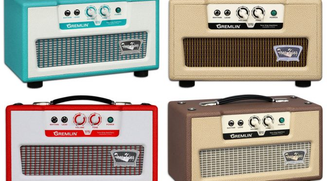 Tone King unveil the low-wattage, vintage-styled Gremlin amplifier