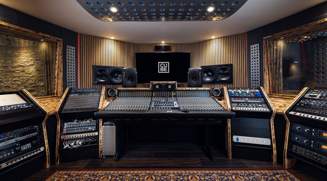 Cornwall's Cube Recording Studio Emerges from Lockdown with new Studio B