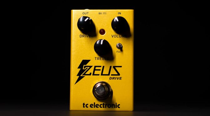 TC Electronic releases a compact, affordable take on the Klon with the Zeus Drive