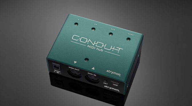 Strymon's new Conduit is a compact hub that makes your pedalboard MIDI-capable