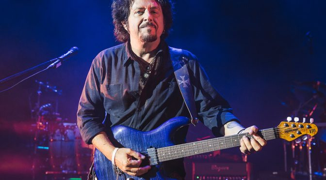 """Steve Lukather says Toto are done making albums: """"There's not gonna be another"""""""