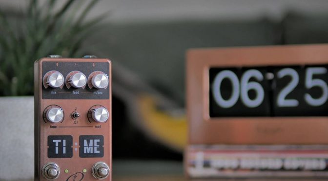 Crazy Tube Circuits unveils the TI:ME delay, aping early digital effects units