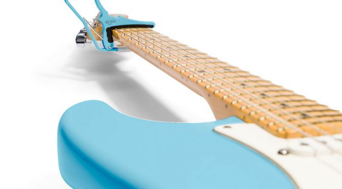 Kyser and Fender team up for custom colour-matched capos