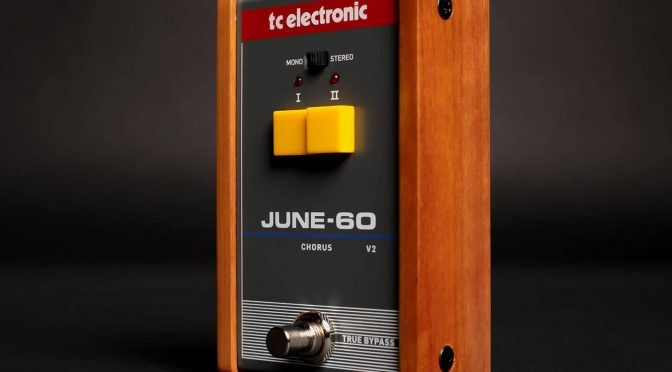 TC Electronic refreshes the June-60 chorus pedal with version two