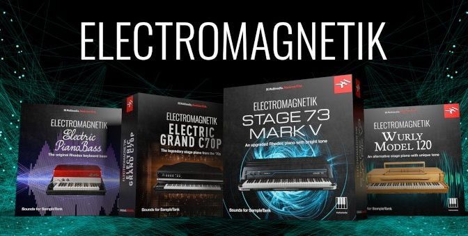 IK Multimedia Releases Electromagnetik Piano Collection