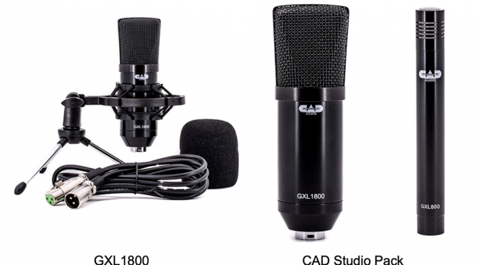 CAD Audio Introduce New Microphone Kits & Accessories