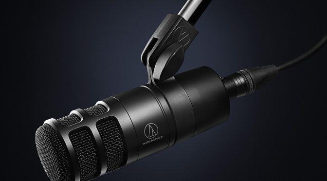 Audio-Technica Introduce AT2040 Hypercardioid Dynamic Podcast Microphone