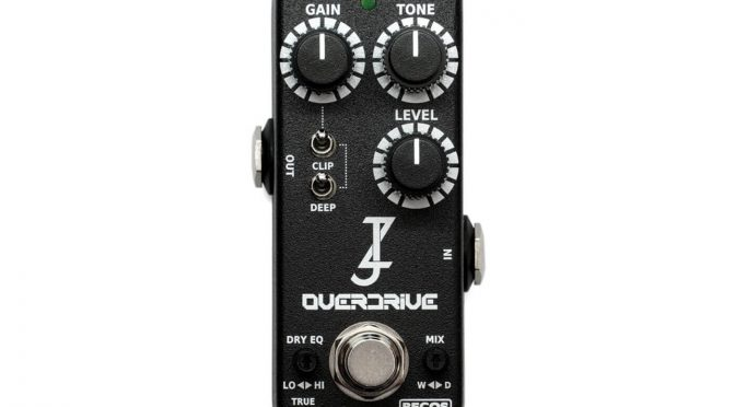 Becos Effects teams with Jordan Ziff for miniature Ziffer Overdrive pedal