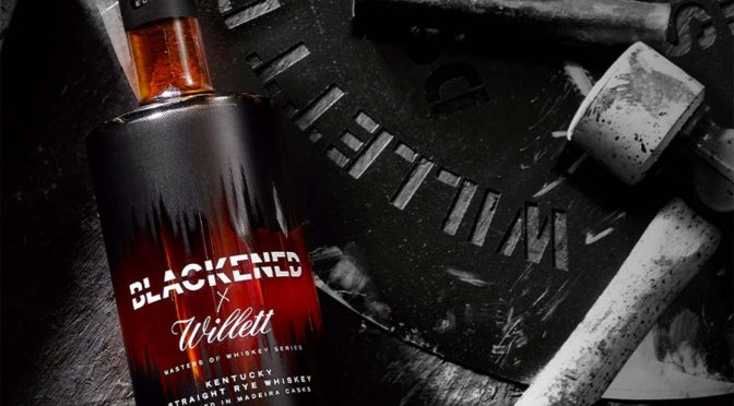 """Blackened American Whiskey is """"pummelled by the low hertz frequencies of Metallica's music"""""""