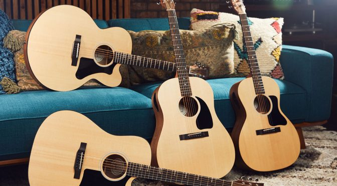 Gibson launches the Generation Collection, featuring acoustics with slimmer bodies and 'Player Port' soundholes