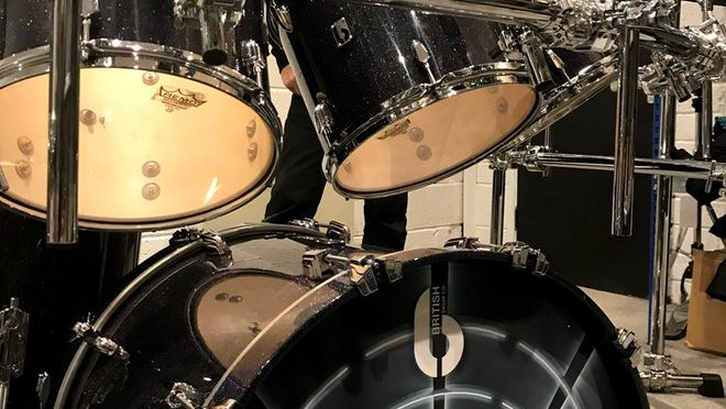 British Drum Co. welcomes Marillion drummer Ian Mosley